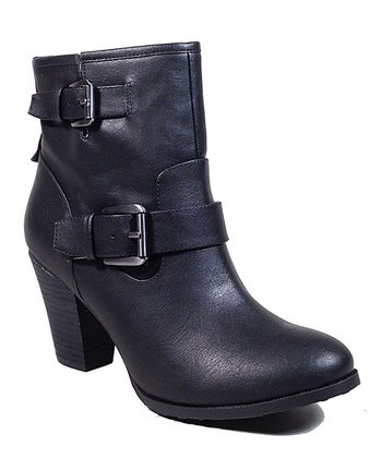 Black Social Ankle Boot
