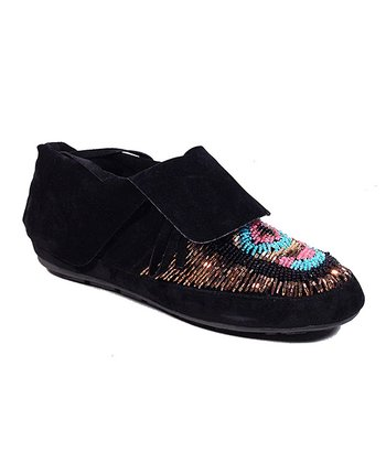Black Tribe Moccasin