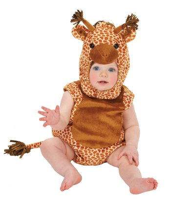 Tan Giraffe Bubble Dress-Up Set