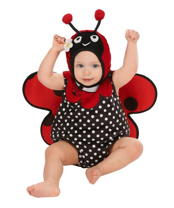 Red Ladybug Bubble Dress-Up Set - Infant