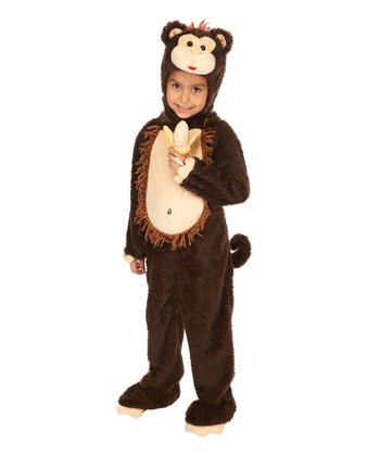 Brown Monkey Dress-Up Outfit - Infant & Toddler