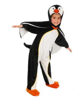 Black Penguin Dress-Up Outfit - Infant & Toddler