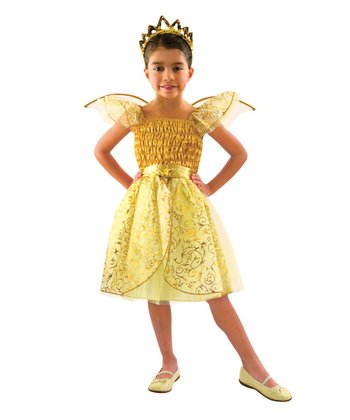 Golden Angel Dress-Up Set - Toddler & Girls