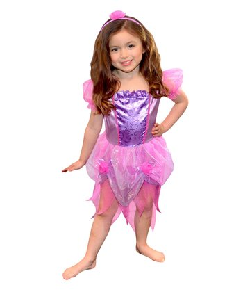 Lilac Fairy Dress-Up Set - Toddler & Girls
