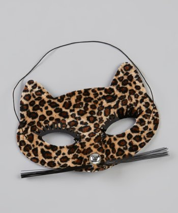 Tan Leopard Mask