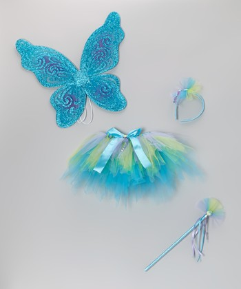 Turquoise & Green Mermaid Tutu Set - Toddler & Girls