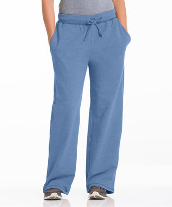 Chamblue Three-Pocket Fleece Lounge Pants - Women