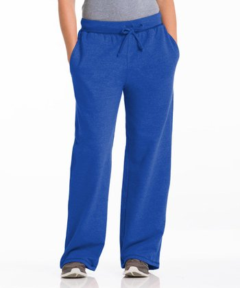 Repair the World® Royal Blue Three-Pocket Fleece Lounge Pants - Women & Plus