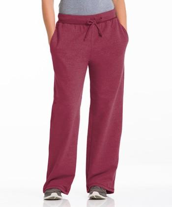 Repair the World® Pomegranate Three-Pocket Fleece Lounge Pants - Women & Plus