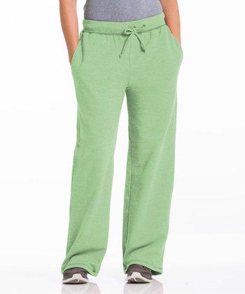 Repair the World® Pistachio Three-Pocket Fleece Lounge Pants - Women & Plus