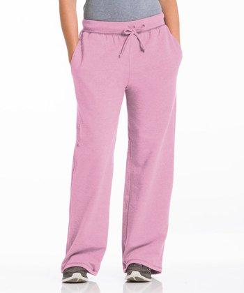 Cotton Candy Three-Pocket Fleece Lounge Pants - Women
