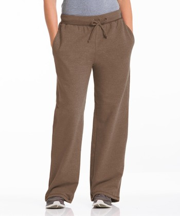 Repair the World® Camel Three-Pocket Fleece Lounge Pants - Women & Plus