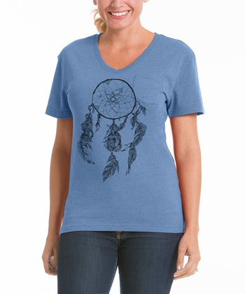 Chamblue Dream Catcher V-Neck Pocket Tee