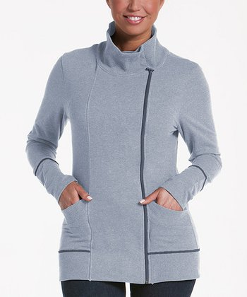 lur® Ash Balsam Asymmetrical Sweater - Women