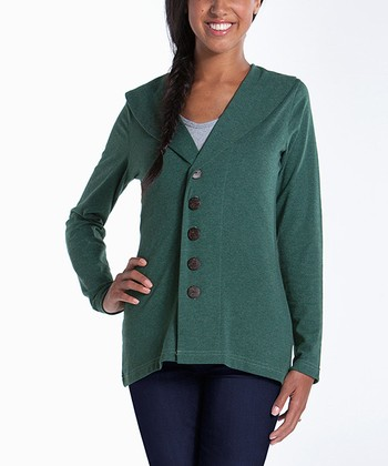 lur® Moss Shawl Collar Cardigan - Women