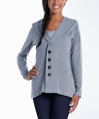 lur® Ash Shawl Collar Cardigan - Women