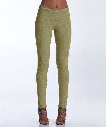 lur® Olive Birch Leggings - Women