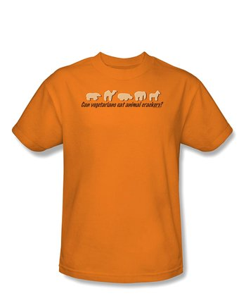 Orange 'Animal Crackers' Tee - Toddler & Boys