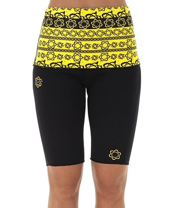 Yellow Atomica HotPants™ Shorts