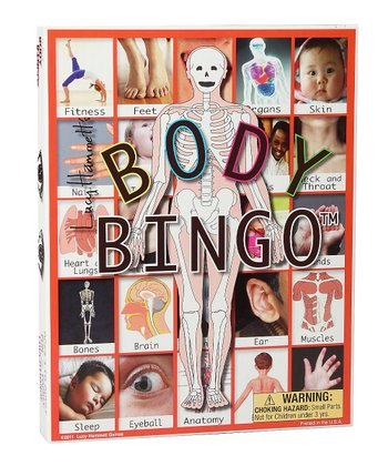 Body Bingo Game