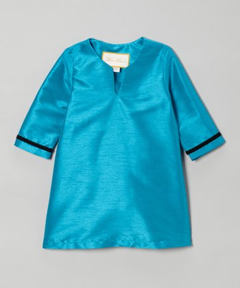 Turquoise Tunic - Toddler & Girls