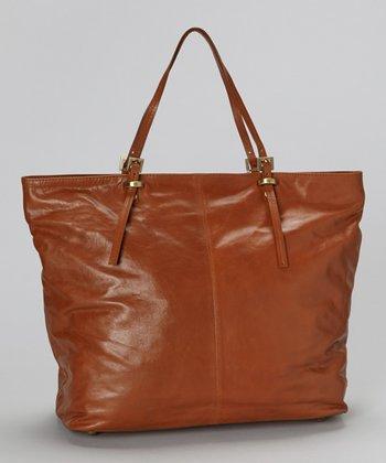 Latico Leather Tan Nadia Tote