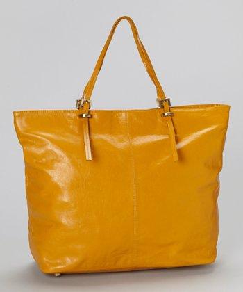 Latico Leather Gold Nadia Tote