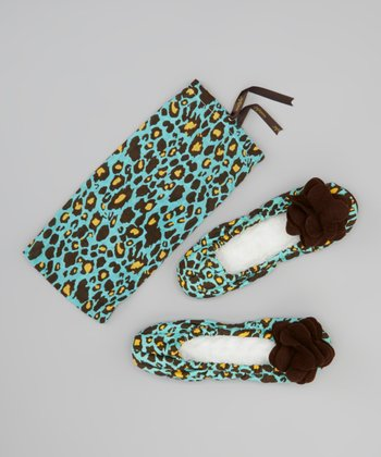 Leopard Lagoon Slipper - Women