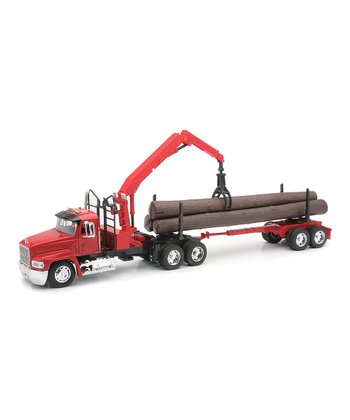 Mack Log Hauler Set