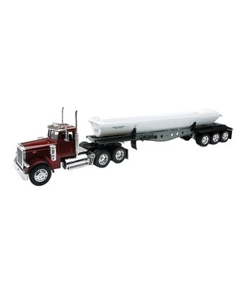 Peterbilt 379 Side Dump Trailer Set