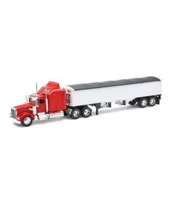 Kenworth W900 Grain Hauler Trailer Set