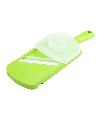 Green Adjustable Julienne Slicer