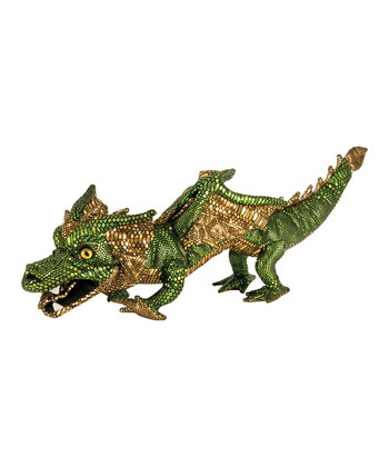 Green Walking Dragon Puppet