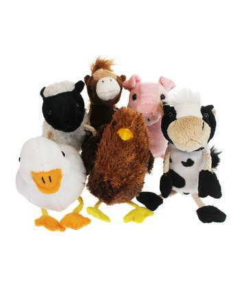 Farm Animal Puppets Set