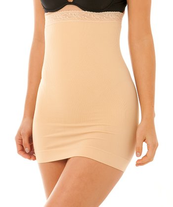 Nude High-Waisted Shaper Slip - Women & Plus