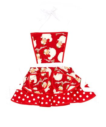 Santa Baby Betty Apron - Women