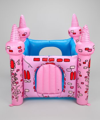 Princess Inflatable Castle & Air Compressor