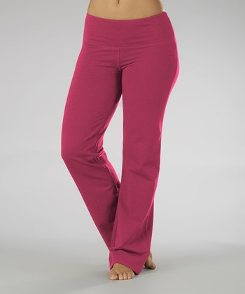 Wild Berry Fleece Lounge Pants