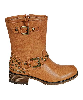 Camel Studded Jayda Boot