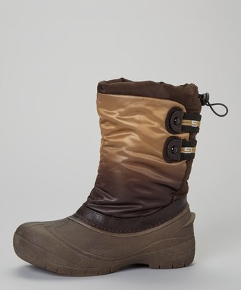 Brown Florence Drawstring Boot