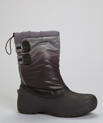 Gray Florence Drawstring Boot