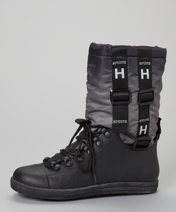 Black Eliza Boot