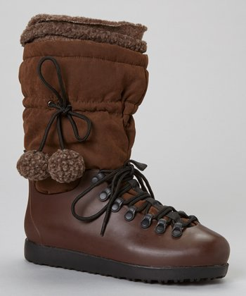 Brown Skyler Drawstring Boot