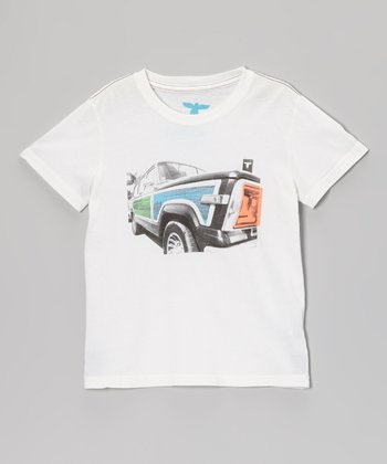White Wagoneer Organic Tee - Infant, Toddler & Boys