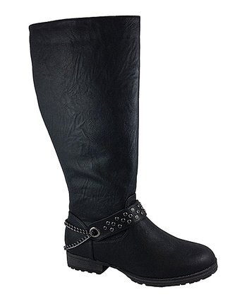 Black Margie Boot