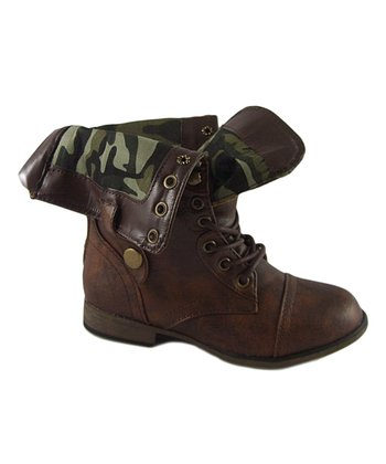 Brown Legend Fold-Over Boot