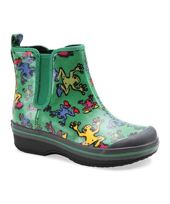 Green Frog Vicki Rain Boot - Kids