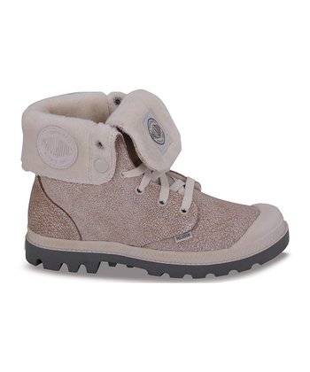 Camel Pilot Baggy Leather Boot