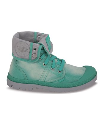Mint & Vapor Pallabrouse Baggy Canvas Boot