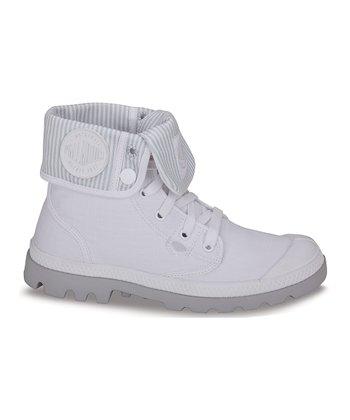 Palladium White Baggy Lite Canvas Boot